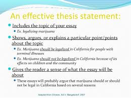 thesis statements 4