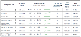 Ibr Repayment Chart What Is Income Based Repayment A Case Study