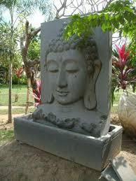 large balinese buddha water feature