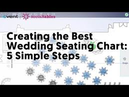 Seating Chart For Small Wedding How To Create A Seating Chart For A Wedding 15 Simple Steps