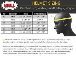 Bell Size Chart Bell Motorcycle Helmet Measurements Disrespect1st Com