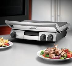 the new sunbeam cafe series grill and barbecue from sunbeam appliances