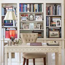 traditional home office with builtin shelves storage ideas for38 storage