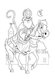 Sinterklaas Site Sinterklaas Kleurplaat Printen