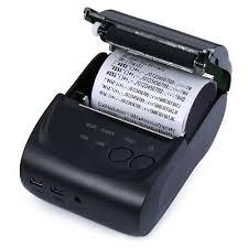 <b>ZJ</b> - <b>5802LD Mini Portable</b> Bluetooth 2.0 3.0 4.0 58mm Thermal ...
