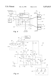 patent us5474013 trim tab auto retract and multiple switching patent drawing
