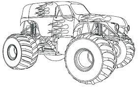 Blaze Monster Truck Coloring Migliori Pagine Da Colorare