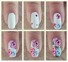 Rose Nail Art Designs - FACE MAKEUP IDEAS