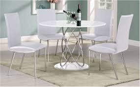 terrific full white high gloss round dining table 4 chairs dining room side inspiring composition white
