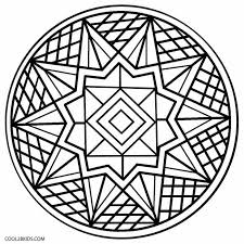 Small Picture Printable Kaleidoscope Coloring Pages For Kids Cool2bKids