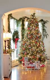 Stunning Christmas tree and beautifully decorated holiday home ~  Rattlebridge Farm: Holiday Home Tour Blog