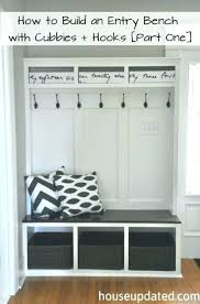 Metal Entryway Bench With Coat Rack Awesome Metal Entryway Storage Bench With Coat Rack Entryway Bench And