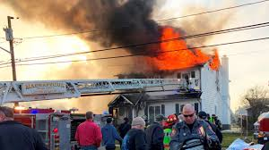 Two homes catch fire in Massapequa, officials say | Newsday