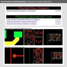 Quote Checker Unique Printed Circuit Board Design Check FreeDFM Advanced Circuits