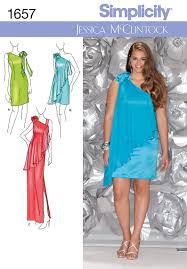 Plus Size Dress Patterns Interesting Simplicity 48 Misses And Plus Formal Dress