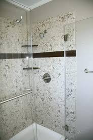 shower walls quartz cost