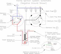 troubleshooting lucas points ignition system schematic