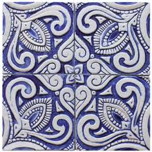 Blue And White Decorative Tiles Border tiles 15