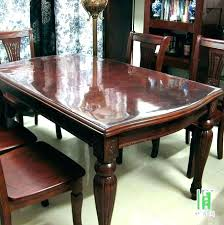 custom glass top dining table chic wooden dining table designs with glass top stylish pertaining to