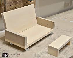 making doll furniture in wood. DIY Doll Furniture - Sofa 3 Making In Wood