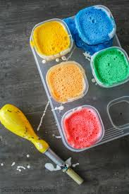 looking for a gentle homemade bath paint recipe try this fun and colorful bath time