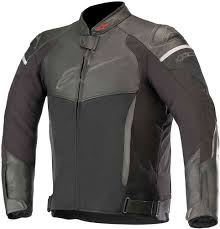 alpinestars sp x air motorcycle leather textile jacket
