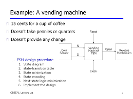 State Machine Diagram For Coffee Vending Machine Best 448 CSE448 Lecture 448 Lecture 448 U Logistics N HW48 Due Friday N Ant