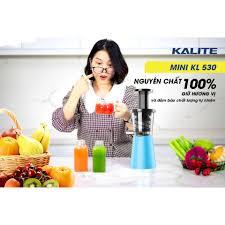 Máy ép chậm Máy ép trái cây Mini Kalite 530 chính hãng 1,820,000đ