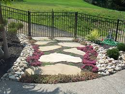 ... Landscape : Outstanding Low Maintenance Backyard Landscape Design For  Backyard With Regard To Low Maintenance Rock ...