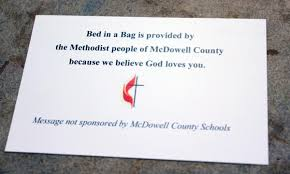 Comfort Dignity Hope Local Churches Donate Beds To Homeless