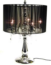 image of unique black lamp shade image
