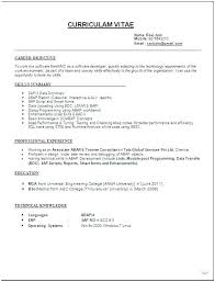 Best Simple Resume Format Best Simple Format Of Resume Simple Resume Format Doc Sample