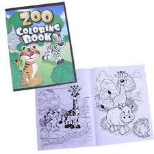 Small Picture Amazoncom Zoo Animal Coloring Books Toys Games
