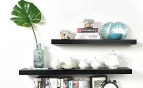 black floating shelves ikea uk shelf nz