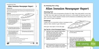 Victorian Era Newspaper Template Ks2 Newspaper Templates Reports Primary Resources Page 3