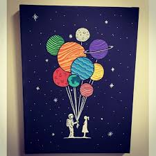 image result for cute galaxy painting art galaxy painting paintings and canvases