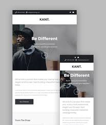 Mailchimp Responsive Design Template Best Mailchimp Templates To Level Up Your Business Email