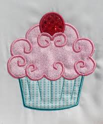 Cupcake Machine Embroidery Designs Fancy Cupcake Embroidery Design Machine Applique Machine