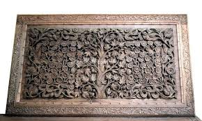 wooden carved wall hangings walnut carved wall hanging carved wooden wall art australia