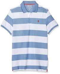 izod men s performance rugby stripe polo shirt m
