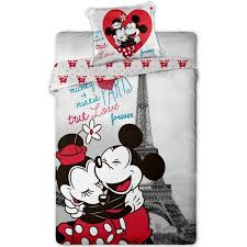 mickey minnie mouse bedding set
