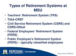 Your Federal Retirement System Ppt Download