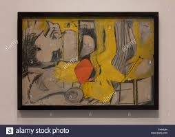 secretary by willem de kooning 1948 smithsonian national gallery of art washington dc usa