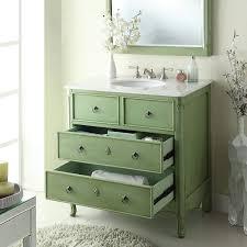 34 cottage look daleville bathroom sink vanity model hf081g vintage mint green