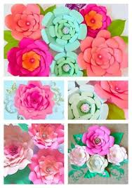 Easy Paper Flower How To Make Easy Diy Giant Paper Flowers Hometalk