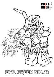 Ninjago Evil Green Ninja Coloring Pages Coloring Pages For Familly