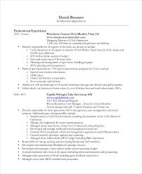 concierge resume samples