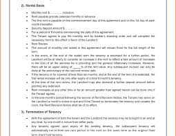 Document Template : Property Lease Agreement Form Graphic Design ...