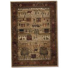 folk art family rug