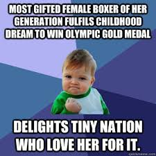 Most gifted Female Boxer of her generation fulfils childhood dream ... via Relatably.com